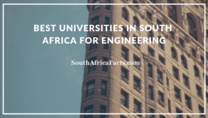 best universities in south africa for engineering