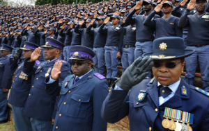 south africa police ranks salary